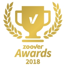 Zoover gold award